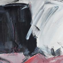 A & O,Acryl auf Papier, 48 x 34 cm, August 2003, Privatbesitz, Albrecht K. Scherer